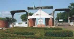Federal University of Agriculture, Markurdi, FUAM NEWS